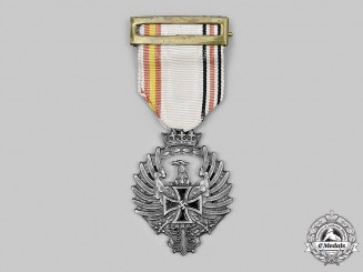 Wehrmacht, Spanish Blue Division. A Near Mint Russian Service Medal of the Spanish Blue Division