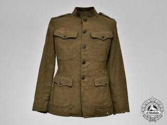 United States. An AEF United States Army Signal Corps Aviation Mechanic's Tunic