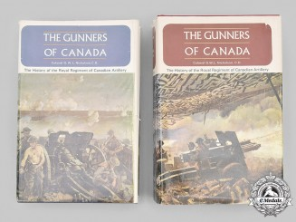 Canada. The Gunners of Canada - The History of the Royal Regiment of Canadian Artillery, Volumes I and II