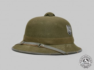 Germany, Heer. A Tropical Pith Helmet, Second Pattern