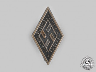 Germany, NSDStB. A National Socialist German Students' League Supporter's Badge