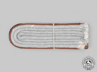 Germany, SS. A Set of Waffen-SS Reconnaissance Untersturmführer Shoulder Boards