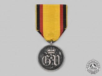 Waldeck, Principality. A Silver Civil Service Merit Medal
