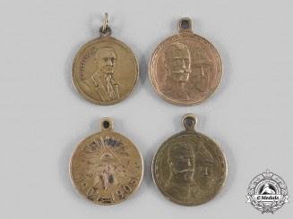 Russia, Imperial. A Lot of Four Medals & Awards