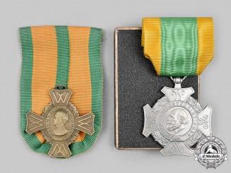 Netherlands, Kingdom. Two Awards