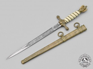 Germany, Kriegsmarine. An Officer's Dress Dagger, by Carl Eickhorn