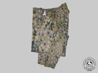 Germany, SS. A Pair of Waffen-SS Dot-Pattern M44 Camouflage Trousers