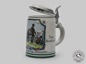 Germany, Heer. A Gebirgsjäger-Regiment 100 Stein