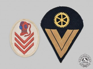 Germany, Kriegsmarine. A Pair of Rank and Trade Insignia