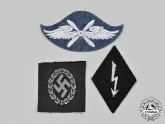 Germany, Wehrmacht. A Mixed Lot of Insignia