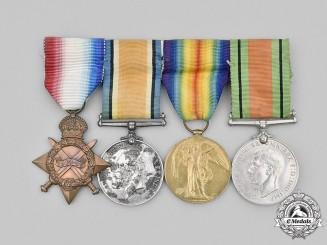 United Kingdom. A Group of Four Lieutenant Applegarth, Yorkshire Regiment