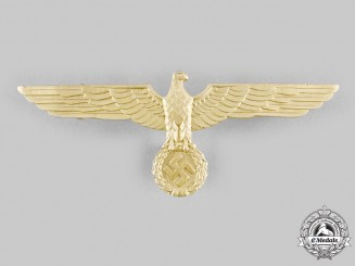 Germany, Kriegsmarine. A Summer Uniform Breast Eagle