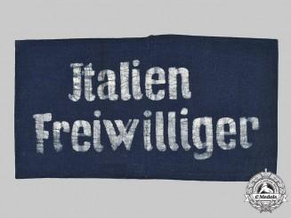 Germany, Luftwaffe. A Fliegerhorst Schweinfurt Italian Volunteer's Armband