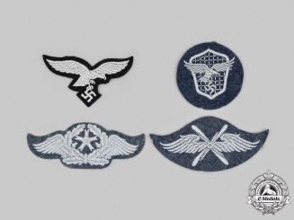 Germany, Luftwaffe. A Lot of Luftwaffe Uniform Insignia
