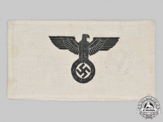 Germany, NSDAP. An Auxiliary Personnel Armband
