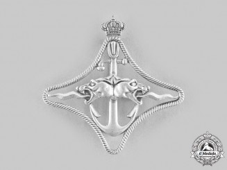 Italy, Fascist State. A Navy Cruisers War Navigation Badge, II Class, c.1940