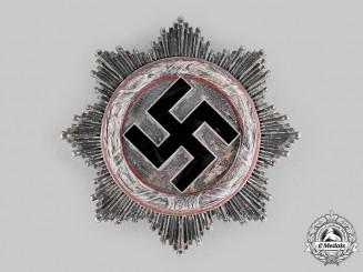 Germany, Wehrmacht. A German Cross in Silver, Light Version, by C.F. Zimmermann