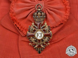 Austria, Empire. An Order of Franz Joseph in Gold, Grand Cross, by Vincent Mayer's Söhne