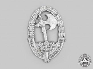 Hungary, Kingdom. A Szent László Infantry Division Uniform Badge