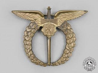 Czechoslovakia, Republic. An Air Force Pilot Badge, c.1942