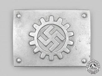 Germany, DAF. A German Labour Front EM/NCO's Belt Buckle, by Overhoff & Cie