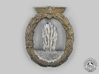 Germany, Kriegsmarine. A Minesweeper War Badge, by Rudolf Karneth
