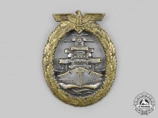 Germany, Kriegsmarine. A High Seas Fleet Badge, Type 3, by Schwerin