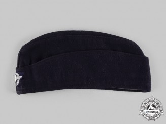 Germany, Feuerschutzpolizei. An Enlisted Personnel Overseas Cap, by Franz Ritter