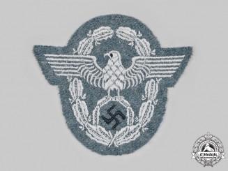 Germany, Ordnungspolizei. An Ordnungspolizei EM/NCO's Sleeve Insignia