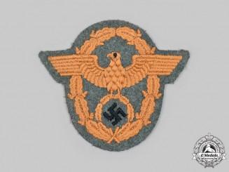 Germany, Schutzpolizei. A Schutzpolizei Gendarmerie EM/NCO's Sleeve Insignia