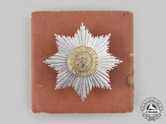 India. An Order of Azad Hind, I Class Star with Case, by Rudolf Souval
