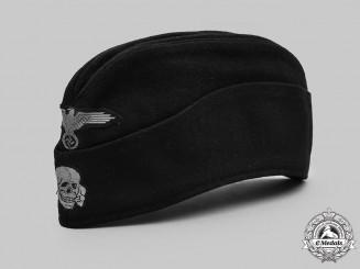Germany, SS. A Waffen-SS Panzer EM/NCO's Overseas Cap