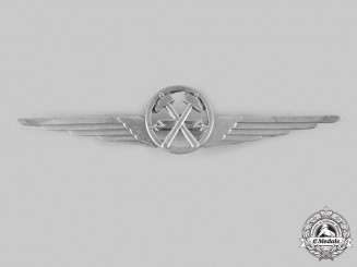 Italy, Kingdom. A Royal Air Force Electro-Mechanic Qualification Badge