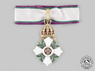 Bulgaria, Kingdom. An Order of Civil Merit, III Class Commander, c. 1900