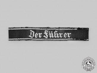 Germany, SS. A SS-Verfügungstruppe Der Führer Cuff Title, First Pattern