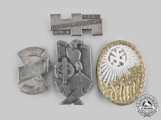 Germany, Third Reich. A Lot of Four Commemorative Badges