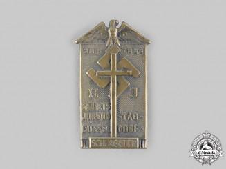 Germany, HJ. A 1933 HJ Düsseldorf Youth Day Schlageter Commemorative Badge