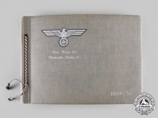 Germany, Heer. A Pre-Second World War Private Photo Album, Artillerie-Regiment 60