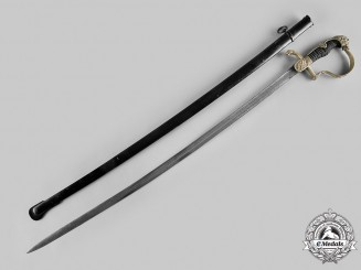 Germany, Imperial. A Prussian Artillery Officer's Lion Head Sword