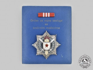 Yugoslavia, Socialist Federal Republic. An Order of Military Merit with Silver Swords, III Class