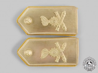Italy, Republic. An Army Artillery Corps Shoulder Board Pair