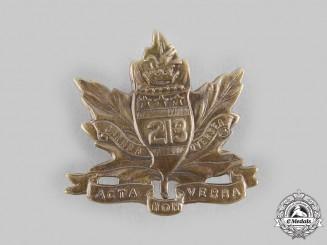 Canada, CEF. A 213th Infantry Battalion