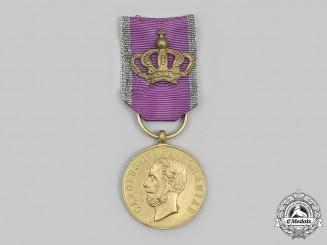 Romania, Kingdom. A Bene Merenti Medal, Type II, I Class, c. 1910