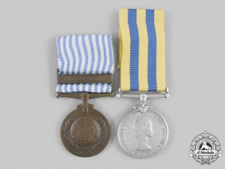 Canada, Commonwealth. A Korean War Pair, to G.M. Ogaick