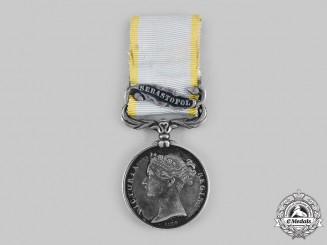 United Kingdom. A Crimea Medal 1854-1856, to Thomas Riley, 34th Regiment of Foot