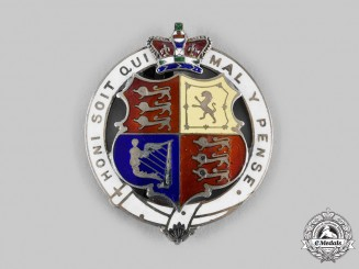 United Kingdom. A Victorian Coronation Commemorative Badge