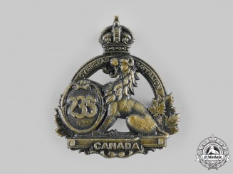 Canada, CEF. A 235th Infantry Battalion Cap Badge