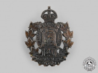 Canada, CEF. A 140th Infantry Battalion Cap Badge