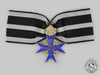 Prussia, Kingdom. A Pour-le-Mérite with Oak Leaves, by Wagner, c.1930