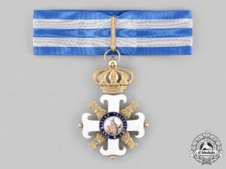 San Marino, Republic. An Order of San Marino, Type II, Commander in Gold, c. 1920